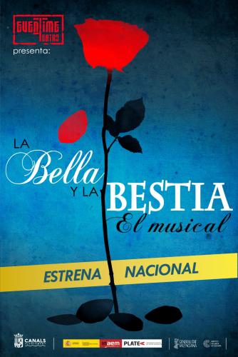 LA BELLA Y LA BESTIA, el musical -CANCEL-LAT-